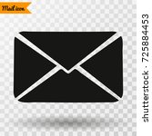 mail  mail icon  mail  vector... | Shutterstock .eps vector #725884453
