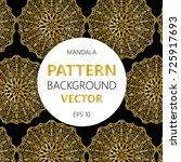 vector illustration. gold... | Shutterstock .eps vector #725917693