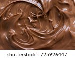 chocolate hazelnut spread on... | Shutterstock . vector #725926447