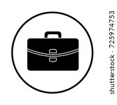 suitcase icon | Shutterstock .eps vector #725974753