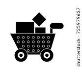 shopping cart icon | Shutterstock .eps vector #725979637