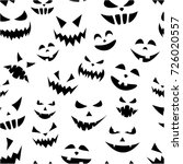 white seamless halloween... | Shutterstock .eps vector #726020557
