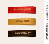 highest and premium quality tag ... | Shutterstock .eps vector #726037477