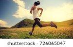 young fitness woman runner... | Shutterstock . vector #726065047