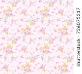 fashionable pattern in small... | Shutterstock . vector #726075217