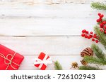 christmas background  ... | Shutterstock . vector #726102943