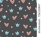 Crowns  Hearts  Round Dots....
