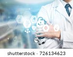 medical. | Shutterstock . vector #726134623