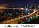 skyline of capital city luanda... | Shutterstock . vector #726149647