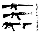 gun icon   weapon silhouette...