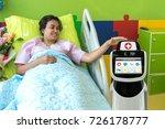 robotic advisor service... | Shutterstock . vector #726178777