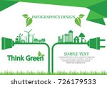 ecology connection  concept... | Shutterstock .eps vector #726179533