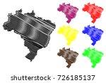 brazil map vector illustration  ... | Shutterstock .eps vector #726185137