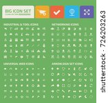 big icon set vector | Shutterstock .eps vector #726203263