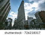 new york city   circa 2012 ... | Shutterstock . vector #726218317