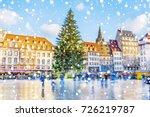 Christmas Tree And Xmas Market...
