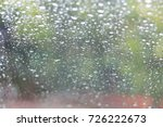 water drop on glass   Shutterstock . vector #726222673
