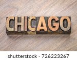 chicago word abstract in... | Shutterstock . vector #726223267