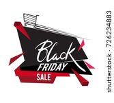 black friday sale inscription... | Shutterstock .eps vector #726234883