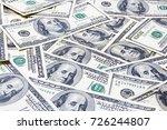 Cash Money Dollar Close Up....