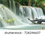 huay mae khamin waterfall in... | Shutterstock . vector #726246637
