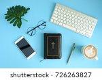 creative flat lay photo of...   Shutterstock . vector #726263827