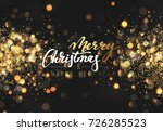 christmas background with... | Shutterstock .eps vector #726285523