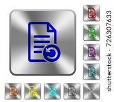 undo document changes engraved... | Shutterstock .eps vector #726307633