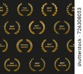 gold film award wreaths