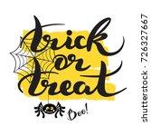 happy halloween. vector...   Shutterstock .eps vector #726327667