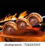 picanha  traditional brazilian... | Shutterstock . vector #726333547