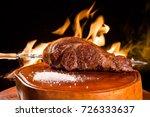 alcatra  traditional brazilian... | Shutterstock . vector #726333637