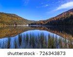 autumn landscape at saint anna... | Shutterstock . vector #726343873