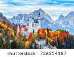 neuschwanstein medieval castle...