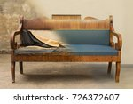 antique biedermeier style sofa...