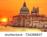 beautiful sunrise in grand... | Shutterstock . vector #726388837