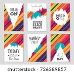 abstract vector layout... | Shutterstock .eps vector #726389857