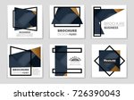 abstract vector layout... | Shutterstock .eps vector #726390043