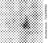 black and white round spots... | Shutterstock . vector #726398983