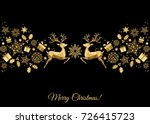 Christmas Golden  Decoration....