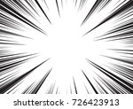 background of radial lines for... | Shutterstock .eps vector #726423913
