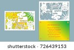 text   happy birthday. vector ... | Shutterstock .eps vector #726439153