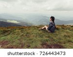 tourism  mountains  lifestyle ...   Shutterstock . vector #726443473