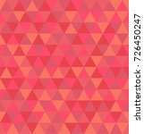 retro geometric triangle... | Shutterstock .eps vector #726450247