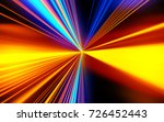 motion speed lights. speed... | Shutterstock . vector #726452443