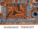 vector eps10.circuit board....