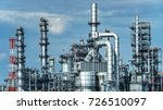 oil and gas industrial oil... | Shutterstock . vector #726510097
