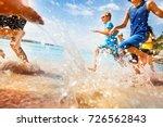 kids having fun run make... | Shutterstock . vector #726562843
