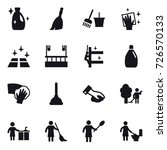 16 vector icon set   cleanser ... | Shutterstock .eps vector #726570133