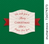 realistic festive merry...   Shutterstock .eps vector #726579373